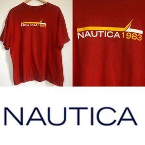 Nautica 1983 Crewneck Short Sleeve T- Shirt XL